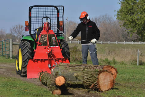 Wallenstein Land Management Tools (Log Grapples, Winches, Trailers
