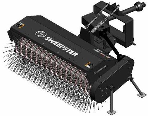 Sweepster 3 Point Mechanical Sweepers Rmrm And Rhfa Models Southwest Distributing Co